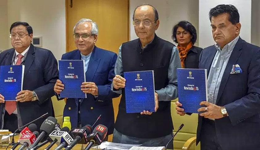 नीति आयोग की न्यायिक और विधिक सुधार की प्रस्तावित रणनीति: अखिल भारतीय न्यायिक सेवा परीक्षा, मध्यस्थता और सुलह के सुझाव [रिपोर्ट पढ़ें]
