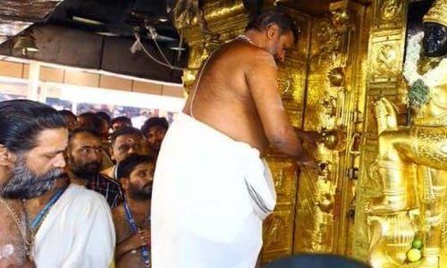 सबरीमला अयप्पा मंदिर में महिलाओं के प्रवेश के बाद
