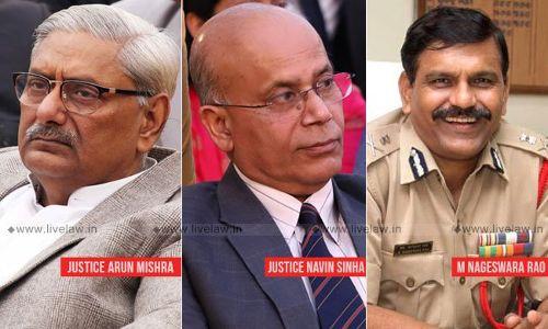 नागेश्वर राव को CBI का अंतरिम निदेशक बनाने के खिलाफ कॉमन कॉज की याचिका पर SC ने दखल देने से इनकार किया