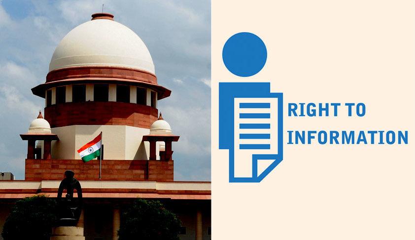 मुख्य न्यायधीश बनाम आरटीआई : सुप्रीम कोर्ट ने ख़ुद अपनी अपील दिल्ली हाईकोर्ट के समक्ष अधिसूचित की