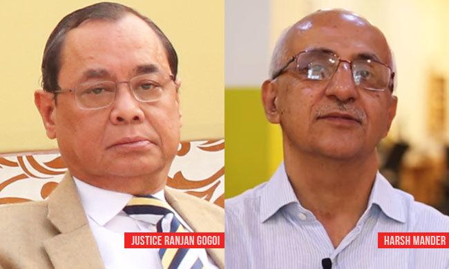 किसी को संस्थान को नष्ट करने की इजाजत नहीं  : CJI ने असम हिरासत केंद्र मामले में खुद को अलग करने से इनकार किया, हर्ष मंदर को हटाया