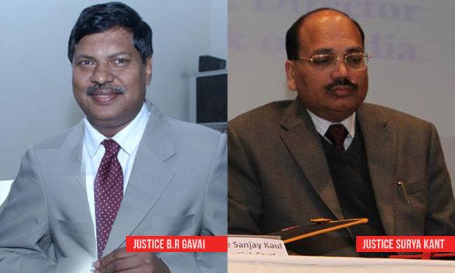 बीसीआई ने बीआर गवई, सूर्य कांत राव, विशाल मिश्रा को पदोन्नति देने को सही ठहराया