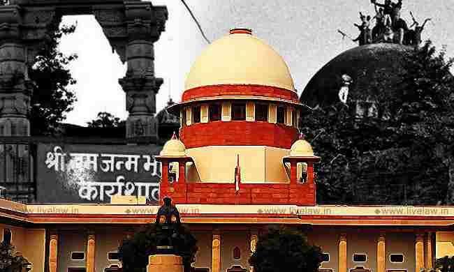 अयोध्या सुनवाई 11वां दिन : सुप्रीम कोर्ट ने निर्मोही अखाड़ा से कहा, भक्त का दावा देवता के विपरीत नहीं हो सकता