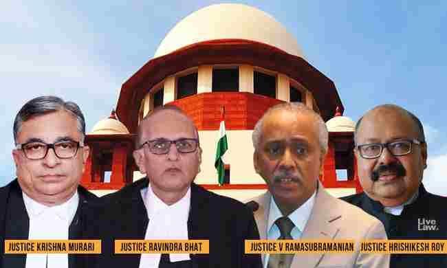 सुप्रीम कोर्ट के जजों के रूप में SC कोलेजियम ने उच्च न्यायालयों के चार मुख्य न्यायाधीशों के नामों की सिफारिश की