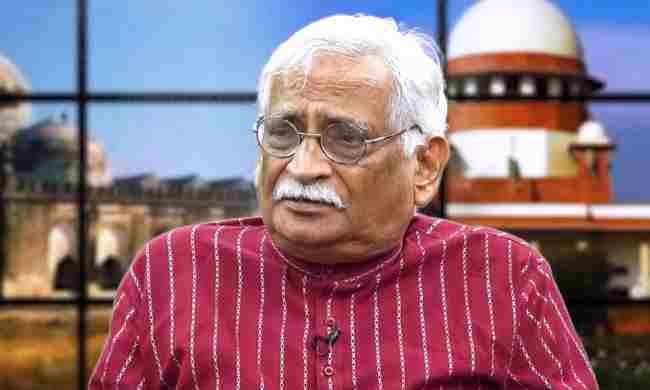 अयोध्या मामले में मुस्लिम पक्षकारों के वकील राजीव धवन की अवमानना याचिका पर सुप्रीम कोर्ट ने 88 वर्षीय प्रोफेसर को नोटिस जारी किया