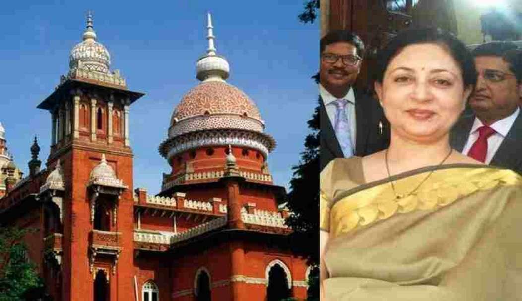 राष्ट्रपति ने मद्रास हाईकोर्ट की मुख्य न्यायाधीश वीके ताहिलरमानी का इस्तीफा स्वीकार किया