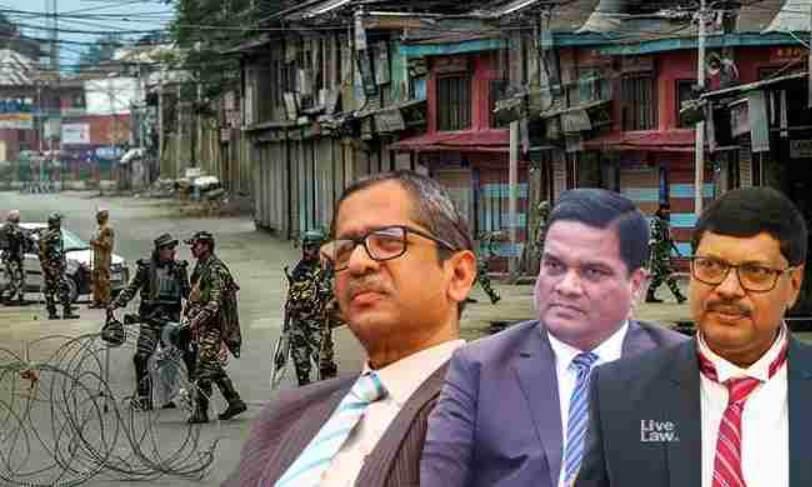सुप्रीम कोर्ट ने कश्मीर पर सुनवाई टालते हुए कहा, निजी स्वतंत्रता को राष्ट्रीय सुरक्षा से संतुलित करना होगा