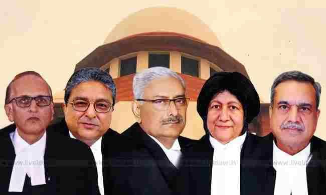 सुप्रीम कोर्ट की संविधान पीठ ने भूमि अधिग्रहण मामलों में जस्टिस अरुण मिश्रा को सुनवाई से रोकने की याचिका पर आदेश सुरक्षित रखा