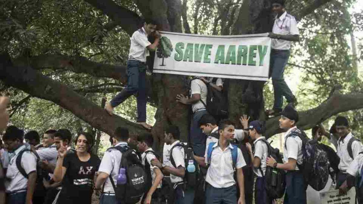 आरे में फिलहाल पेड़ काटने पर रोक रहेगी, सुप्रीम कोर्ट ने कहा मेट्रो का काम जारी रह सकता है