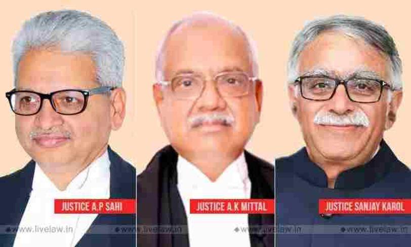 केंद्र सरकार ने पटना, मेघालय और त्रिपुरा उच्च न्यायालयों में मुख्य न्यायाधीशों के स्थानांतरण की अधिसूचना जारी की