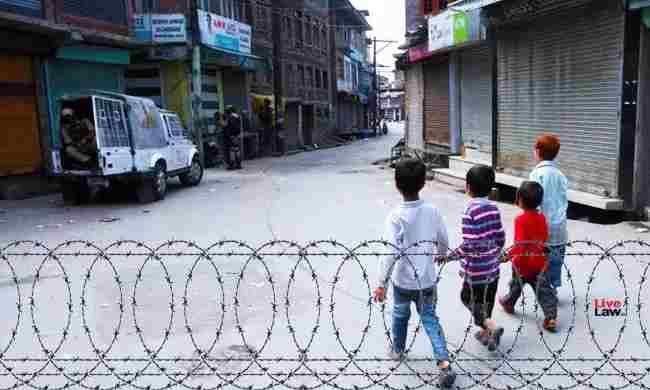 सुप्रीम कोर्ट ने जम्मू-कश्मीर जुवेनाइल जस्टिस कमेटी को कश्मीर में बच्चों की अवैध हिरासत को लेकर फिर से रिपोर्ट देने के निर्देश दिए