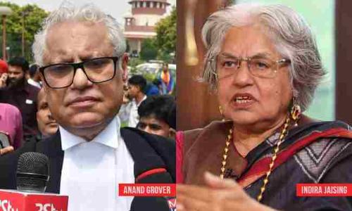 इंदिरा जयसिंह  और आनंद ग्रोवर को मिले अंतरिम संरक्षण पर रोक लगाने से सुप्रीम कोर्ट का इंकार