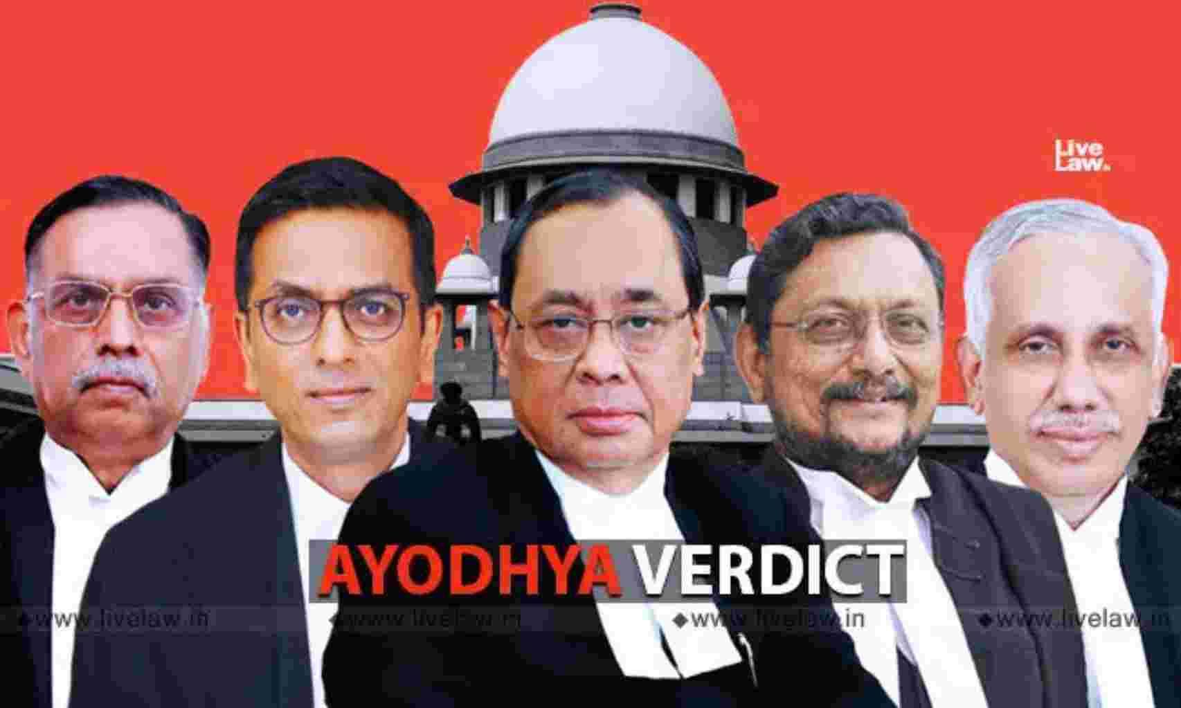 सुप्रीम कोर्ट के फैसले ने गैरकानूनी कार्य को सम्मान दिया : अयोध्या फैसले पर मुस्लिम पक्षकारों ने दाखिल की पुनर्विचार याचिका