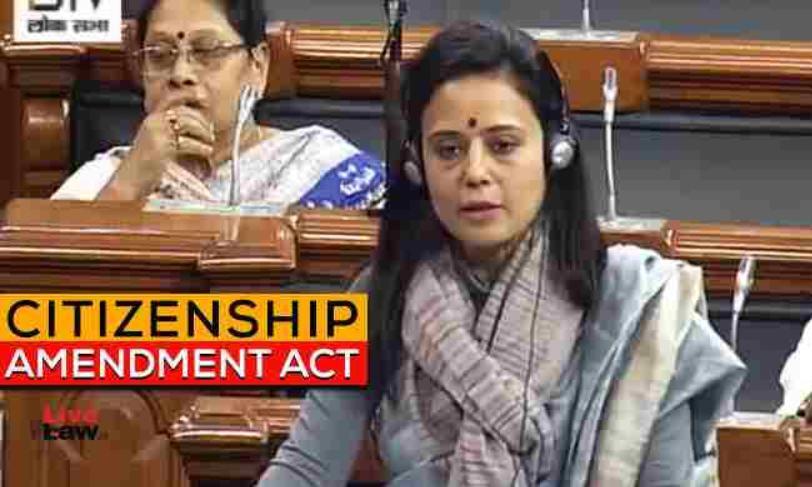 तृणमूल कांग्रेस सांसद महुआ मोइत्रा ने नागरिकता संशोधन अधिनियम के खिलाफ सुप्रीम कोर्ट का रुख किया