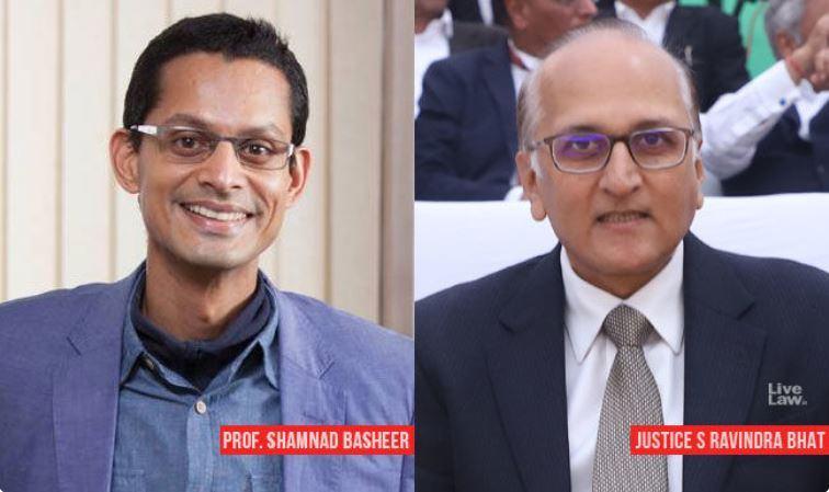 प्रो शामनाद बशीर और जस्टिस रविंद्र भट आईपी 2019 में 50 सबसे प्रभावशाली व्यक्तियों में शामिल