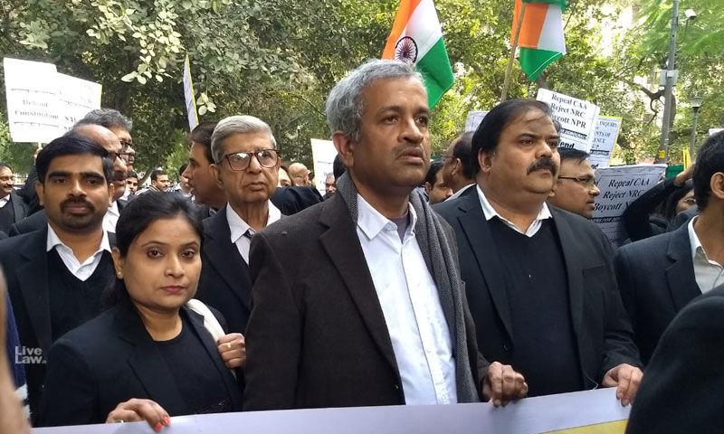 दिल्ली के वकीलों ने CAA-NRC के खिलाफ मार्च निकाला कहा, यह समानता और धर्मनिरपेक्षता को बचाने की लड़ाई