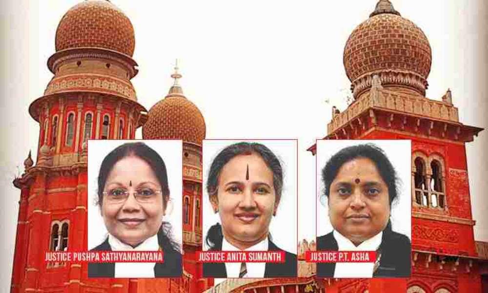 मद्रास हाईकोर्ट में महिला न्यायाधीशों की पहली बेंच गठित, ESI एक्ट पर कर रही है सुनवाई