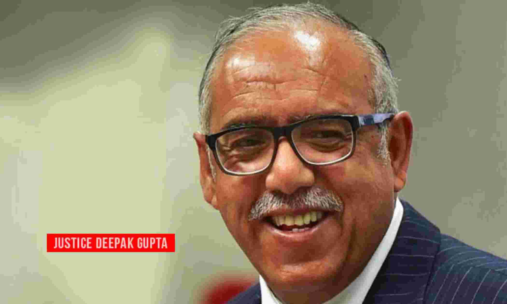 संविधान जजों की पवित्र पुस्तक : सुप्रीम कोर्ट जज जस्टिस दीपक गुप्ता ने विदाई समारोह में कहा