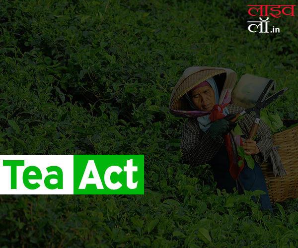 चाय अधिनियम और टी बोर्ड की आवश्यकता के बारे में जानिए ये खास बातें