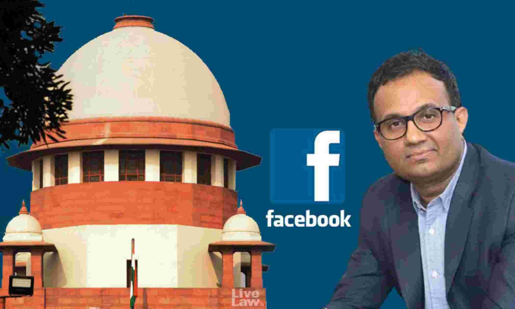 फेसबुक सिर्फ प्लेटफार्म देता है, इसके वाइस प्रेसिडेंट दिल्ली विधानसभा पैनल के समक्ष उपस्थित नहीं होंगे : हरीश साल्वे ने सुप्रीम कोर्ट को बताया