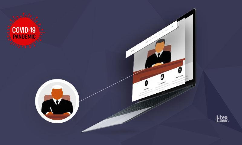 नेकबैंड्स और ब्रॉडबैंड्स: नॉन-ऑफिस स्पेस से वीडियो-कॉन्फ्रेंसिंग में शामिल हो रहे वकीलों के संबंध में