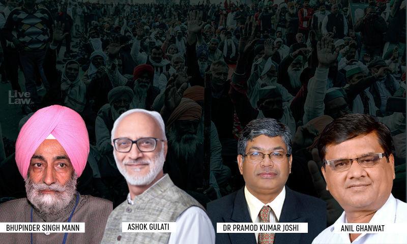 भूपिंदर सिंह मान ने कृषि कानूनोंं पर चर्चा के लिए बनी सुप्रीम कोर्ट की समिति से खुद को अलग किया