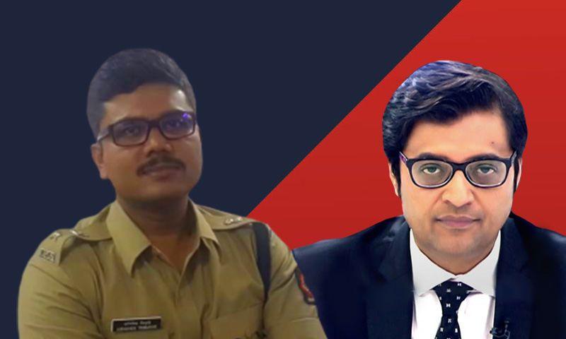 मुंबई डीसीपी अभिषेक त्रिमुखे ने अर्नब गोस्वामी, उनकी पत्नी और रिपब्लिक टीवी के खिलाफ आपराधिक मानहानि का मामला दर्ज करवाया