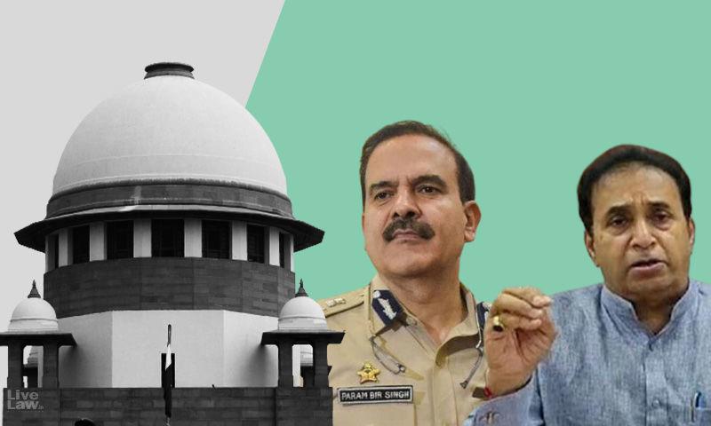 सुप्रीम कोर्ट ने अनिल देशमुख के खिलाफ सीबीआई जांच की परमबीर सिंह की याचिका पर सुनवाई से इनकार किया, हाईकोर्ट जाने को कहा
