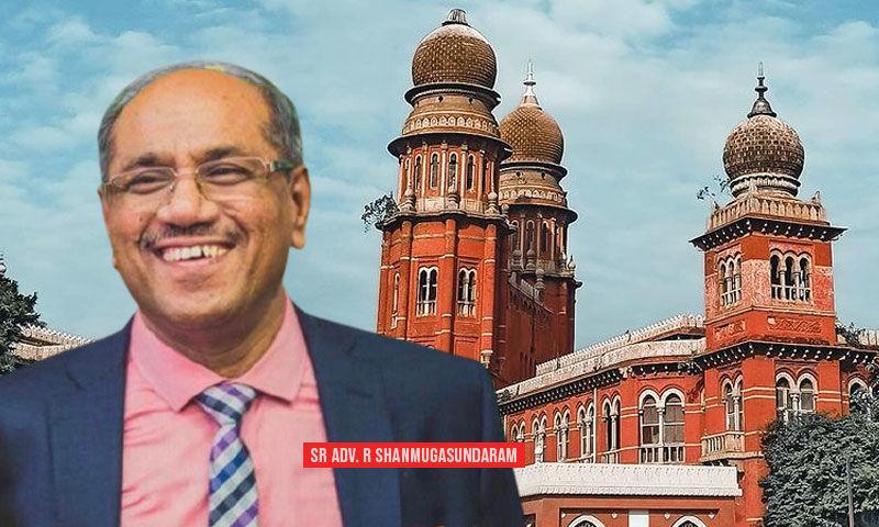 सीनियर एडवोकेट आर. षणमुगसुंदरम को तमिलनाडु के लिए अगले महाधिवक्ता के रूप में नियुक्त किया गया