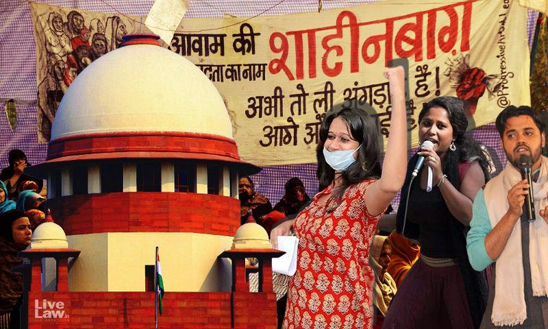 दिल्ली हाईकोर्ट के देवांगना कलिता, नताशा नरवाल और आसिफ इकबाल तन्हा को जमानत देने के आदेश के खिलाफ दिल्ली पुलिस ने सुप्रीम कोर्ट का रुख किया