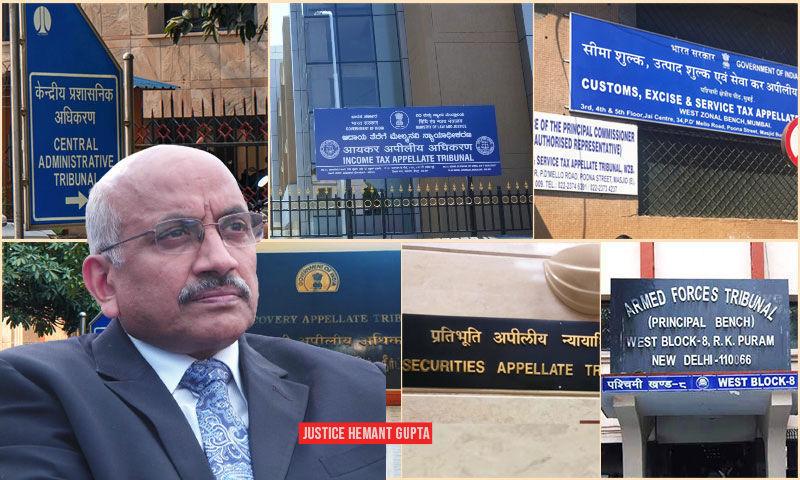 दिल्ली के बाहर कुछ ट्रिब्यूनल की प्रमुख पीठों को स्थानांतरित करने से बार को विभिन्न स्थानों पर बढ़ने में मदद मिलेगी : जस्टिस हेमंत गुप्ता