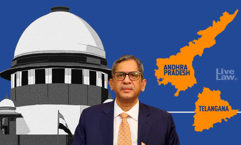 मैं दोनों राज्यों से हूं: सीजेआई रमाना ने आंध्र-तेलंगाना राज्यों के बीच जल विवाद मामले पर सुनवाई करने में कठिनाई ज़ाहिर की