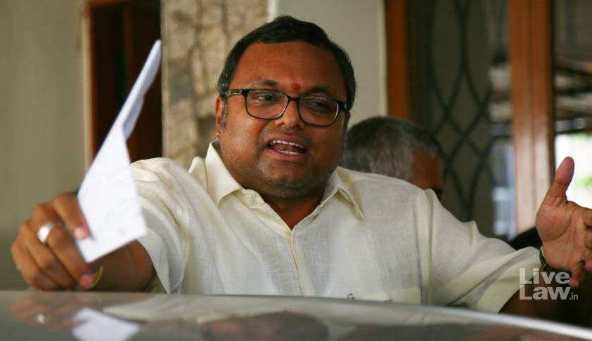सुप्रीम कोर्ट ने कार्ति चिदंबरम की 10 करोड़ रुपये वापस करने की याचिका पर जल्द सुनवाई से इनकार किया